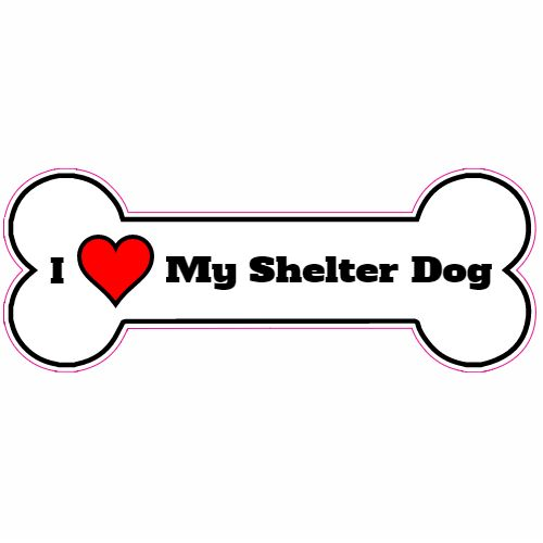 Get this I Love My Shelter Dog Bone Sticker online at the U.S. Custom Stickers Decal Store. Shop for high quality stickers at cheap prices. Buy here.