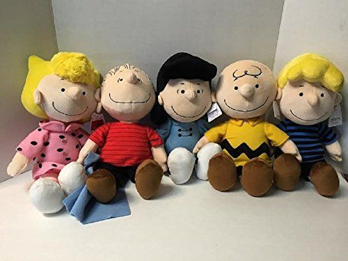 Peanuts Charlie Brown Snoopy Characters Set of 5 Include Schroeder Lucy Sally Linus and Charlie Brown >>> Continue to the product at the image link.