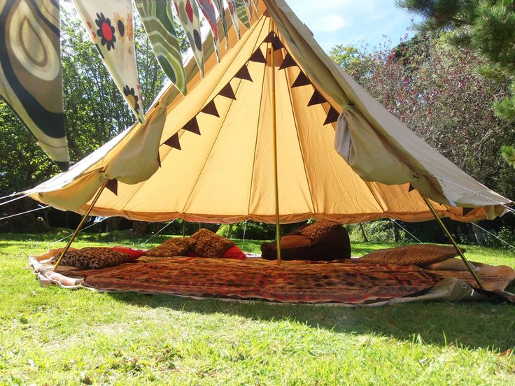 Gl&ing Cornwall. Bell tent hire Cornwall. Experience a night under canvas in the luxury of a bell tent supplied by Igloo Structures | Gl&ing! & Glamping Cornwall. Bell tent hire Cornwall. Experience a night ...