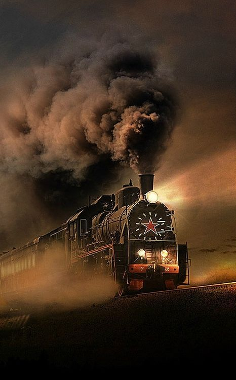 Orient Express from Juana Martin.--It always sounded so foreign and mysterious to me. Thought I'd like to travel on it someday. (mkc)