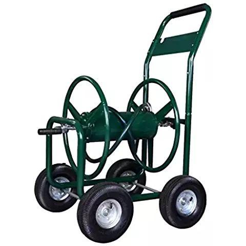 Water Hose Reel Cart 300 FT # HoseConnectors #WateringEquipment #Gardening