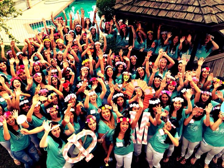 153 Fraternity and Sorority Mixer Ideas