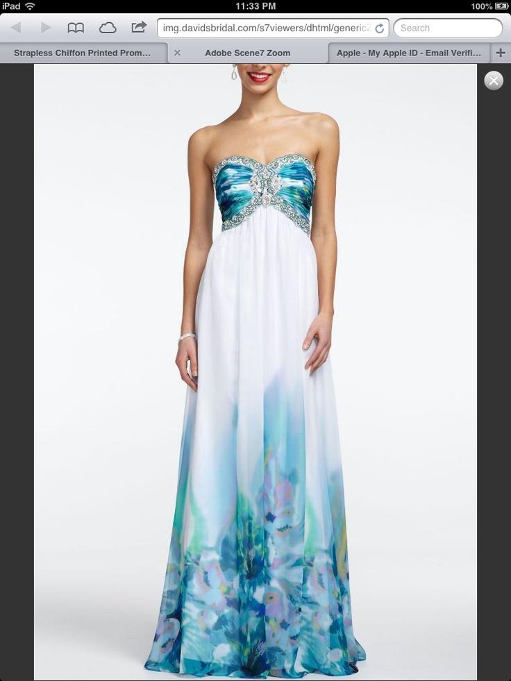 Prom Dress From David S Bridal For Iris Pinterest