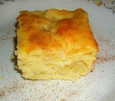 Gâteau léger aux poires | Une Plume dans la Cuisine