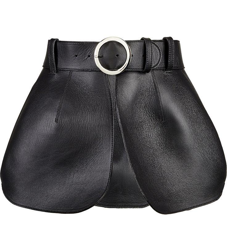 ZANA BAYNE - Isabel leather peplum belt | Selfridges.com