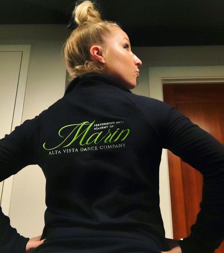 Custom company jackets logo design for performing arts