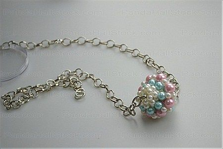 How to make pearl jewelry- a piece of individual handmade pearl jewelry – Nbeads