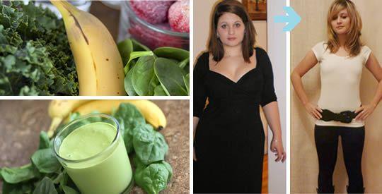 Frullato di spinaci e banana per perdere peso | Rimedio Naturale