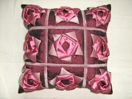 Лоскутное шитьё роза