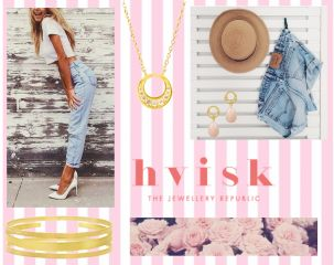 hvi.sk/r/4reO- Follow the link for these#beautiful#jewelry-#hvisk #hviskstyling#hviskstylist #styling#cheap#new #accessories#jewellery #summer #pink #denim