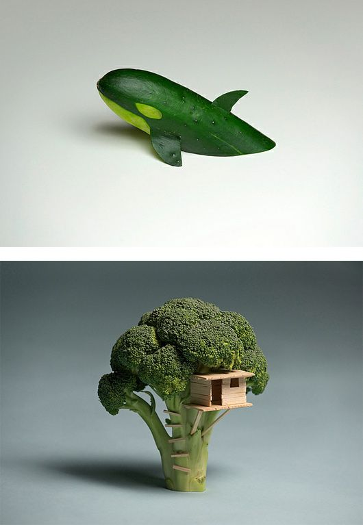 Cleverness  ///  Play With Your Food Today Creative Food Manipulations pic on Design You Trust