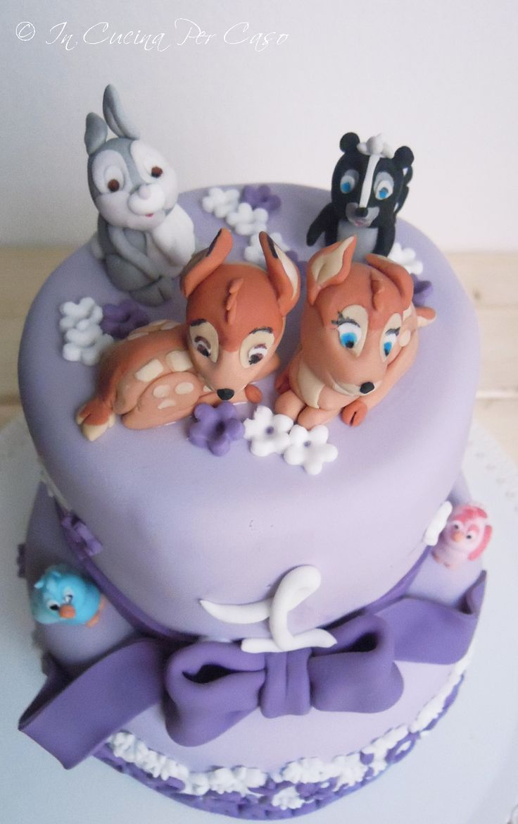 Cake Decorating Disney Characters : 30 best images about Bambi Cakes on Pinterest Disney ...