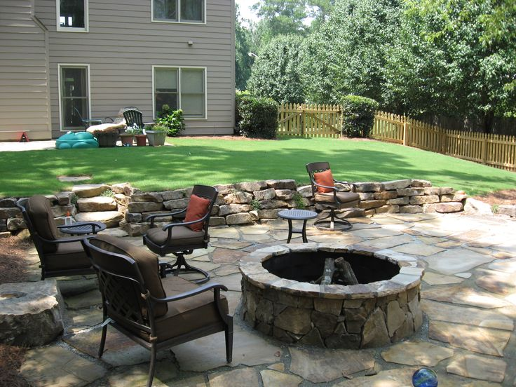 Fieldstone Rock Patios : Best images about patio pathways on pinterest covered