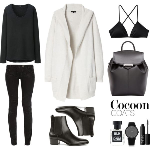 Cocoon by fashionlandscape on Polyvore featuring Mode, Uniqlo, Theory, Patagonia, Yves Saint Laurent, Larsson & Jennings, NARS Cosmetics and BLK DNM