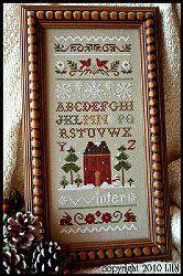 Little House Needleworks - Winter Band Sampler