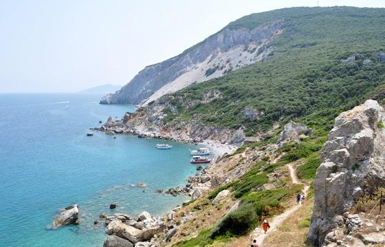 Kastro Beach, Skiathos Greece