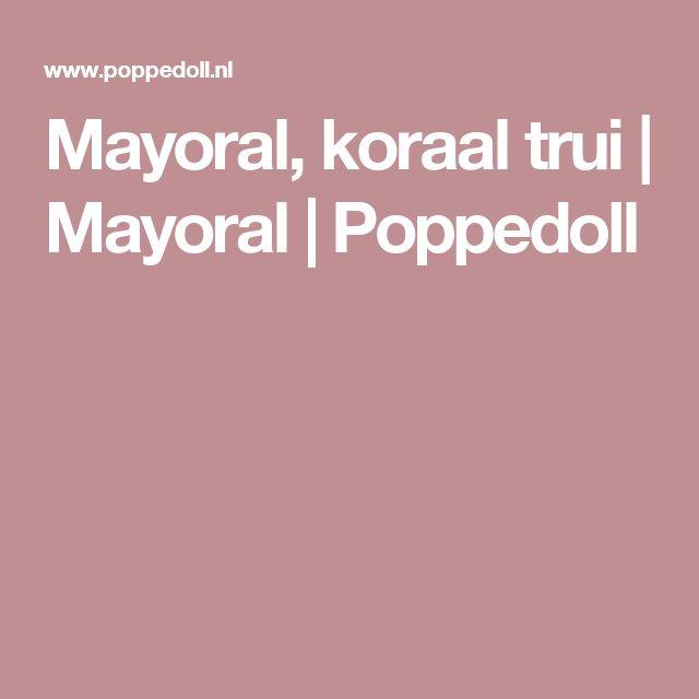 Mayoral, koraal trui | Mayoral | Poppedoll