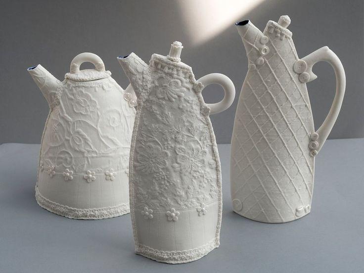 GwenBCeramics: Gwenbceramics Co Uk, Teapots Africans, Teas Pots Gwenbceram, Coff Pots, Shape Teapots, Pottery Pitchers, Gewnbceram Teapots, Handbuilt Teapots, Handbuilt Pottery