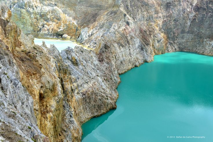 Mysterious Colored Volcanic Crater Lakes of Kelimutu
