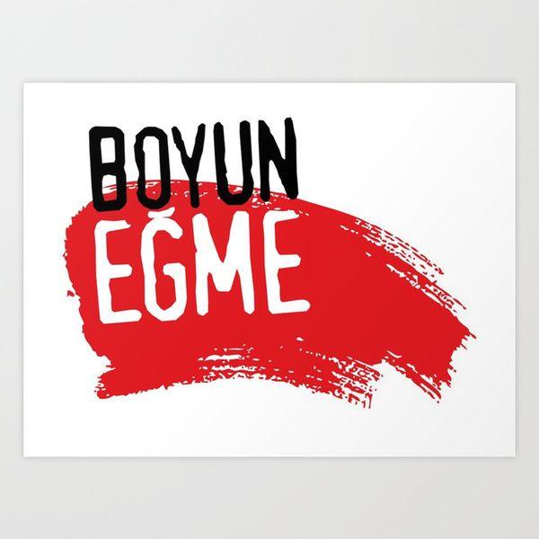 BOYUN EĞME !!!