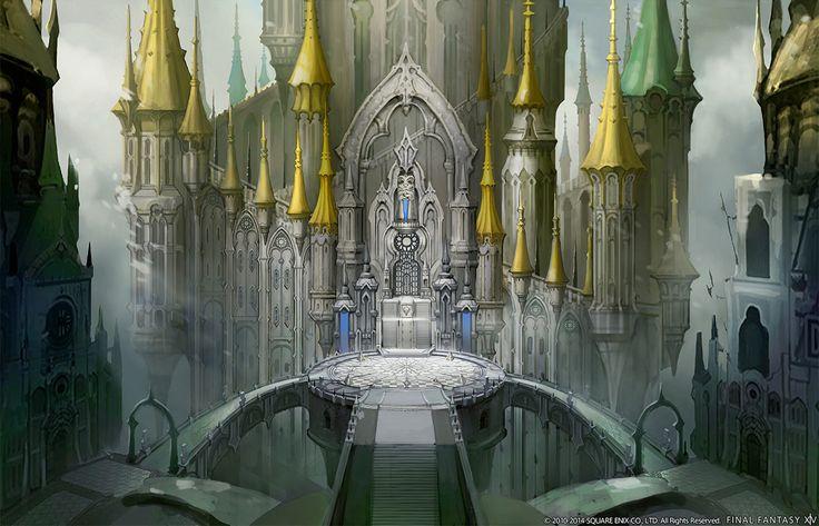 Final Fantasy XIV: Heavensward - Ishgard Walkways