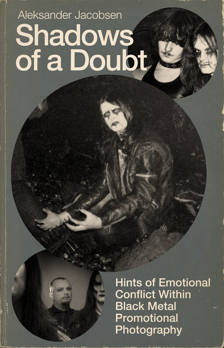 Shadows of a Doubt: Hints of Emotional Conflict Within Black Metal Promotional Photography by Aleksander Jacobsen