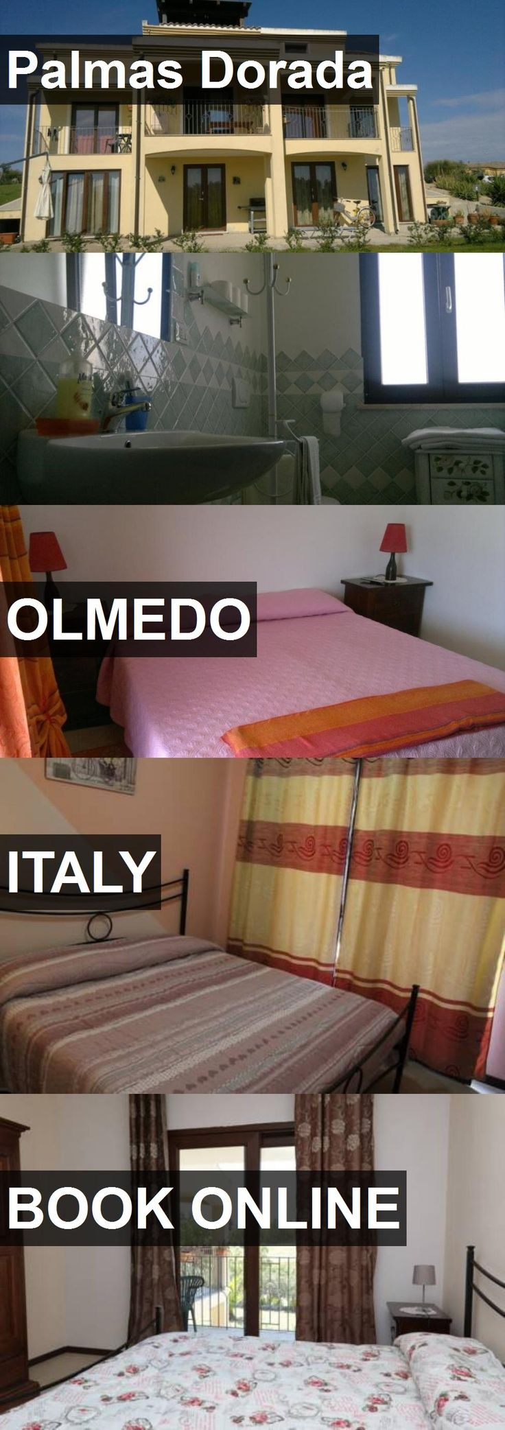 Hotel Palmas Dorada in Olmedo, Italy. For more information, photos, reviews and best prices please follow the link. #Italy #Olmedo #hotel #travel #vacation