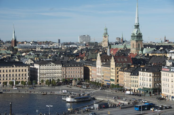 View from the Katarina Elevator (Katarinahissen ) by Allison Murray \ Stockholm