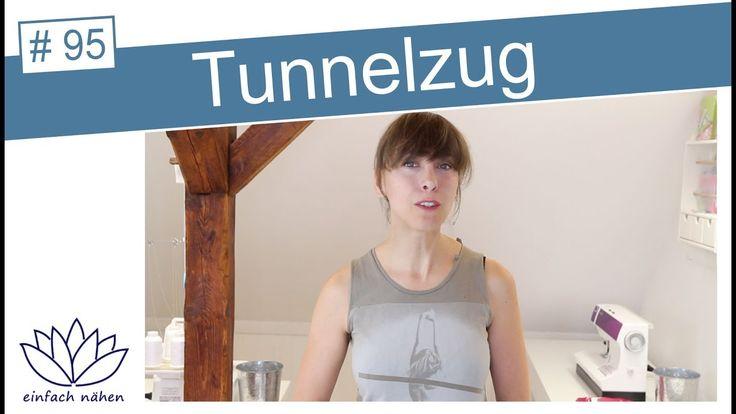 Tunnelzug (aufgesetzt) nähen - mit Anna von einfach nähen