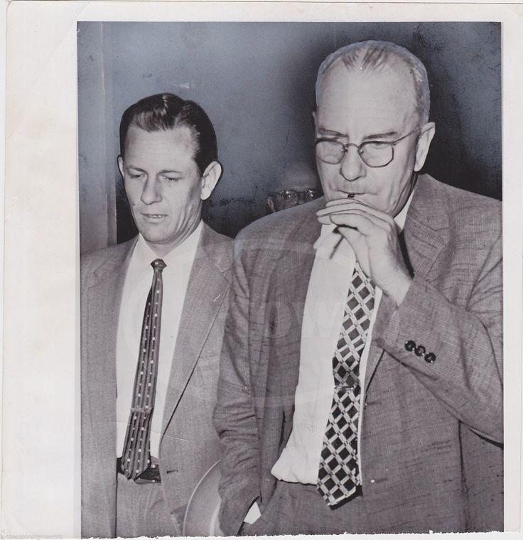 JAMES COOK EVANS DALLAS TEXAS BANK ROBBER CRIME VINTAGE NEWS PRESS PHOTO 1959