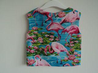 Woohoo!: flamingo sky top