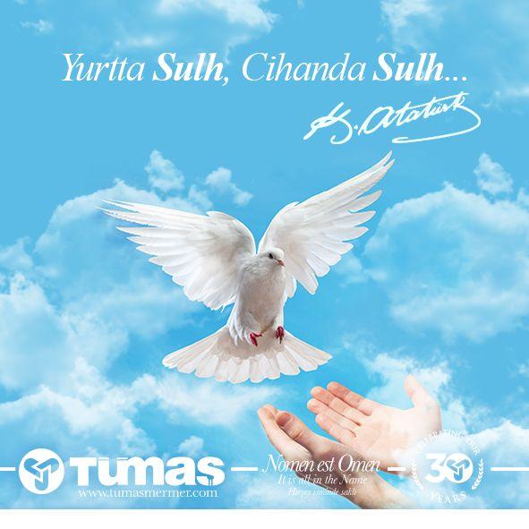 Dünya Barış Günü Kutlu Olsun