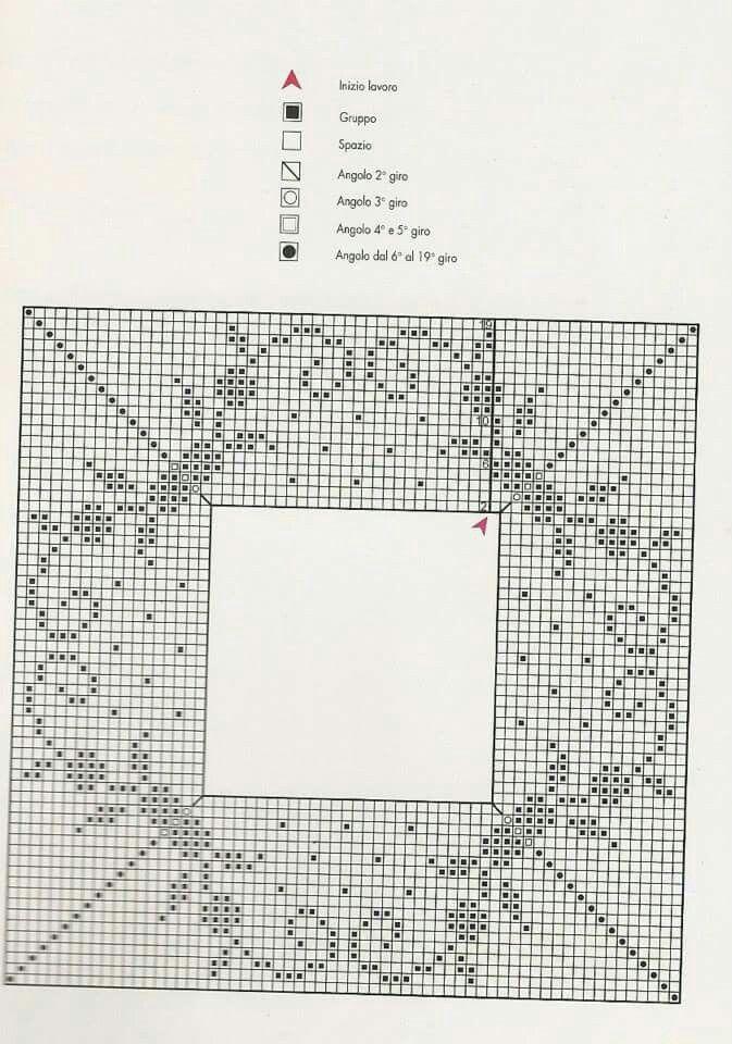 1312 best Croche images on Pinterest | Crochet patterns, Crocheted ...