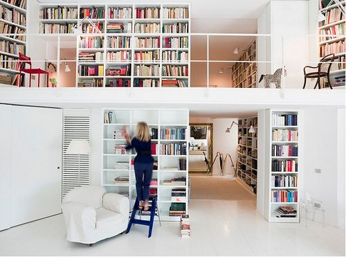 More books than Belle.: Decor, Bookshelves, Dreams Libraries, Dreams Houses, Idea, Home Libraries, Books Shelves, Interiors, Homes
