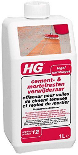 HG Effaceur pour Voiles de Ciment Tenaces et Restes de Mortier 1 L