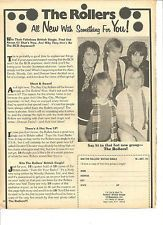 Bay City Rollers, Full Page Vintage Clipping