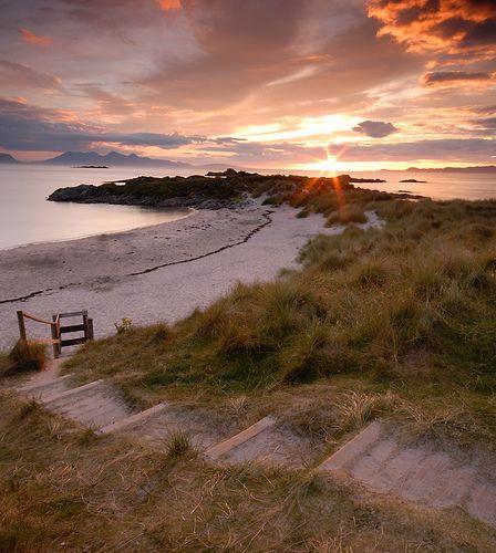Scottish West Coast between Arisaig and Morar #glasgow2014 #scotland www.glasgow2014.com