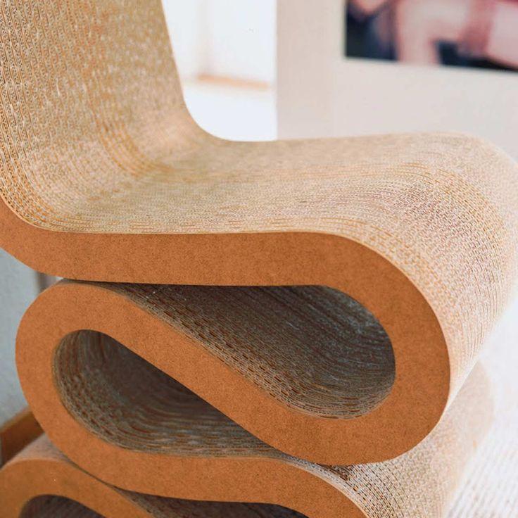 Furniture Cardboard Design ~ http://www.lookmyhomes.com/wonderful-frank-gehry-furniture-cardboard/