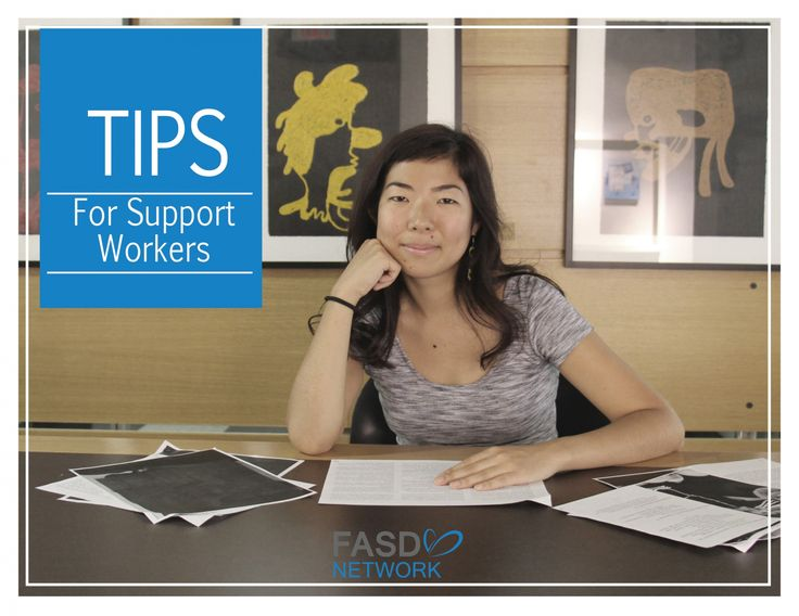 FASD Tips  & Strategies for Support Workers #FASD