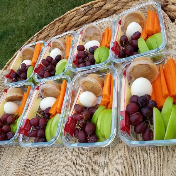 Mix + Match Bento Boxes -  How handy will it be to pull one out of the fridge for an afternoon snack – OR – on the way to the kids' practice!?! - Clean Food Crush