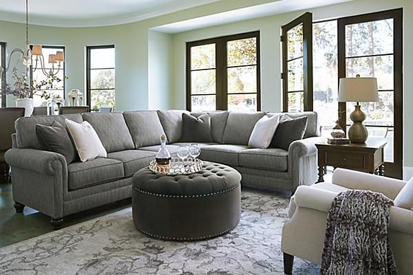 The Kittredge 3 Piece Sectional From Ashley Furniture HomeStore (AFHS.com).  Cozy Living RoomsLiving Room ...