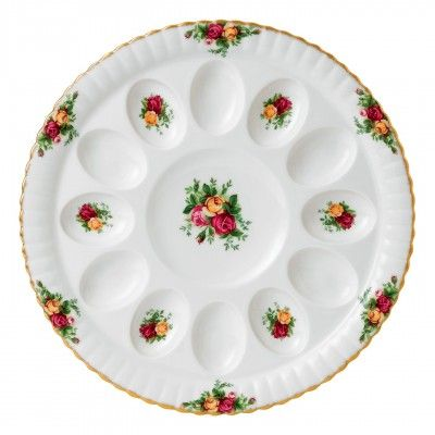Old Country Roses Deviled Egg Tray