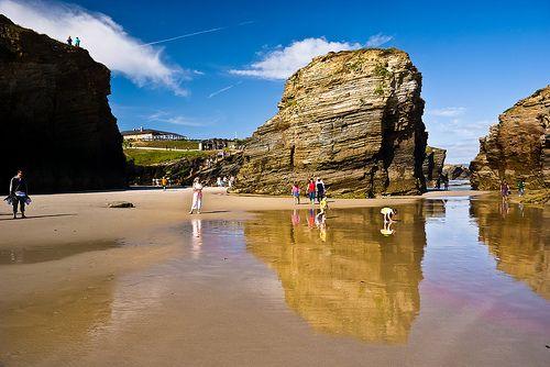 Playa Catedrals, Ribadeo, Spain. 19 of the best beaches in Europe: http://www.europealacarte.co.uk/blog/2011/03/28/best-beaches-europ/