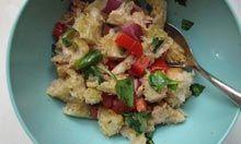 Chef Giorgio Locatelli's panzanella recipe.