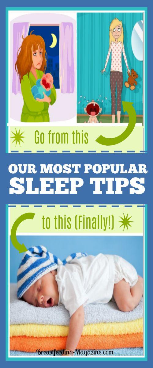 Top Baby Sleep Tips to Help You Get More Sleep (Finally!)