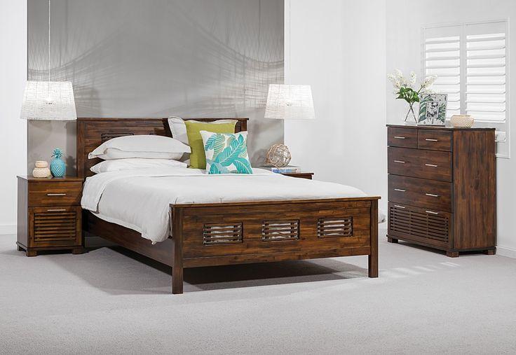 Queen Bed Frame Early Settler: Super Amart Settler Bedroom Suite