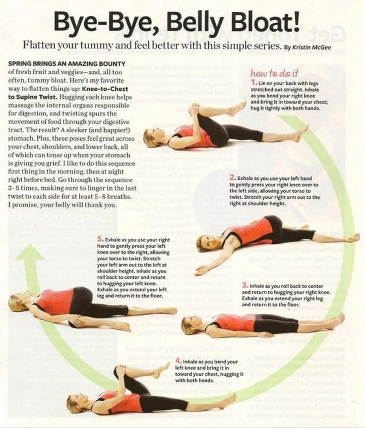 Belly Bloat Exercises