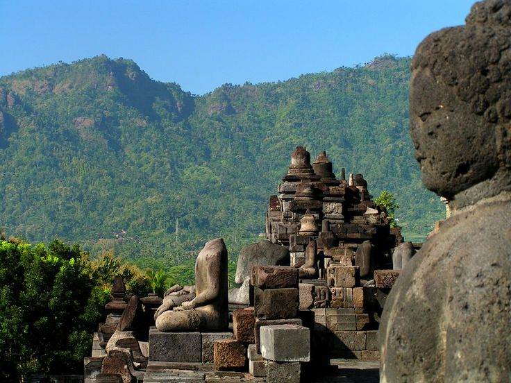 Borobudur Temple: Borobudur (Central Java, Indonesia)