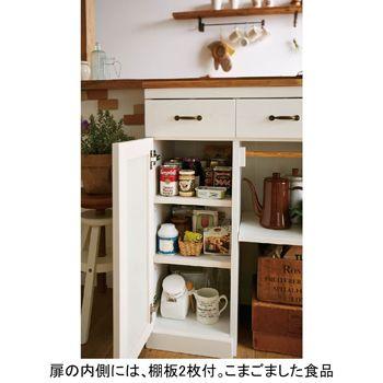 カントリー調キッチンカウンターVD 通販|生活雑貨