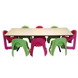 Trestle Table and Chairs